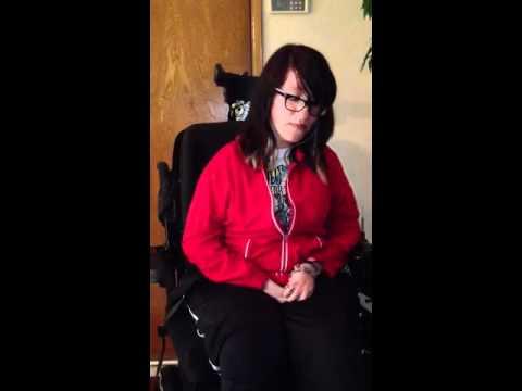Chelsea Galatz singing God Bless the Broken Road