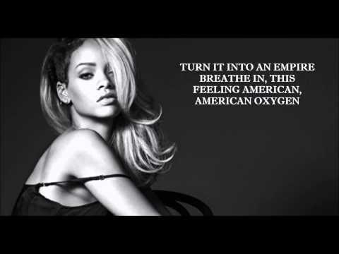 Rihanna-American Oxygen Lyrics