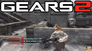 Gears of War 2 Xbox One - Around the World Blood Drive! (Multiplayer Gameplay)