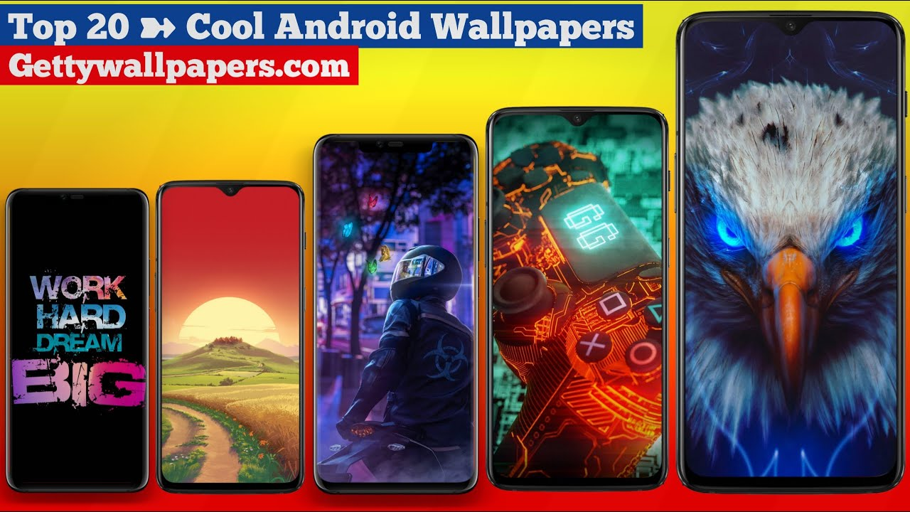 20 Cool Android Wallpapers Download In High-Quality [ 4k ...