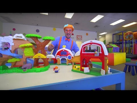 Blippi at the Indoor Play Place | Learning Movements להורדה