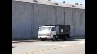 1994 Isuzu NPR Turbo Diesel Stakeside Dump Bed Truck