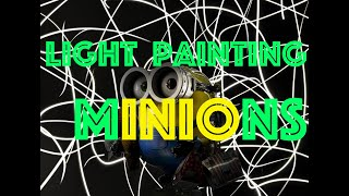 【what is it?】MINIONS【Light Painting】 thumbnail