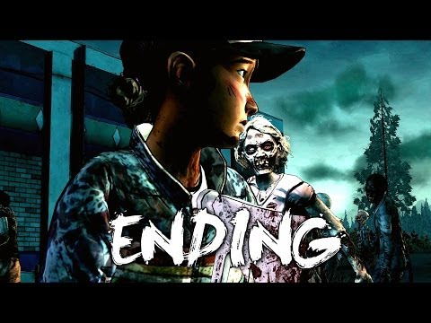 The Walking Dead Season 2 Episode 3 Gameplay Walkthrough Part 5 - Ending