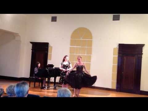 Resident Opera Artists performing at Central Methodist University in Fayette, Missouri