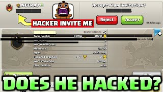 Does He Hacked? HACKER Trick Revealed I Clash Of Clans