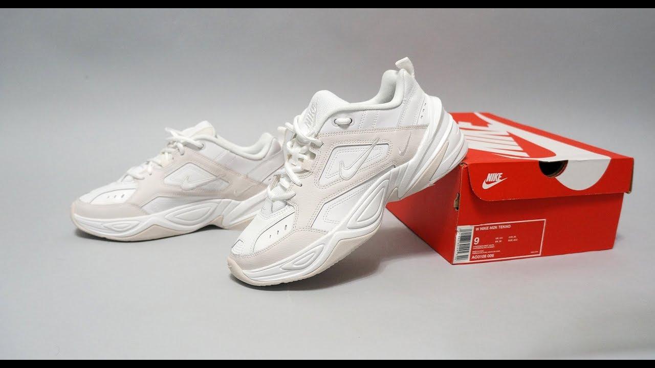 newest dfc23 6c0c1 Nike M2K Tekno Phantom Summit White