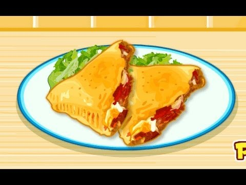Crescent Pizza Pockets Games-Cooking Games-Girl Games