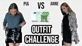 WER kauft das BESSERE OUTFIT? 100 € - 1 STUNDE SHOPPING CHALLENGE ⎥ PIA