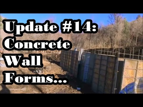#43 - Setting Concrete Wall Forms and More Rain (Symons Wall Panels)