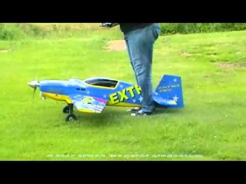 Extra 330L mit DA50 Motor einfliegen 2.6.2012