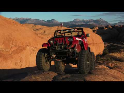 Moab Jeep Tour in 4K ~ Hell's Revenge Jeep Trail