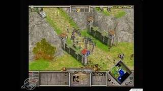 Age of Mythology PC Games Gameplay - We need reinforcements!