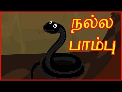 நல்ல பாம்பு   The Clever Snake   Panchatantra Moral Stories   தமிழ் கார்ட்டூன்   Chiku TV Tamil