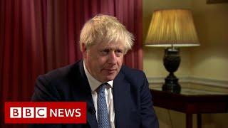 Prime Minister Boris Johnson in parliament language row- BBC News