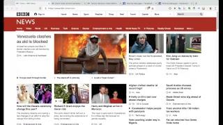 BBC News website, the art of hiding the popular stuff Tommy Robinson Panodrama