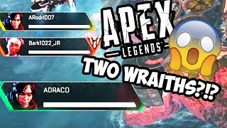 Apex Legends: Funny Moments (Two Wraiths One Game, Breaking Doors, Sick Plays, Random Lmaos)