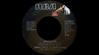 Daryl Hall + John Oates ~ Maneater 1982 Purrfection Version