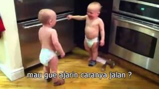 akhirnya.. bahasa bayi kembar berhasil ku terjemahkan..