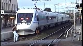European Rail  -  X2000 the Swedish Highspeed Train.