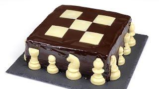"""Торт """"Шахматный"""". Шоколадные коржи и нежнейший творожный крем."""