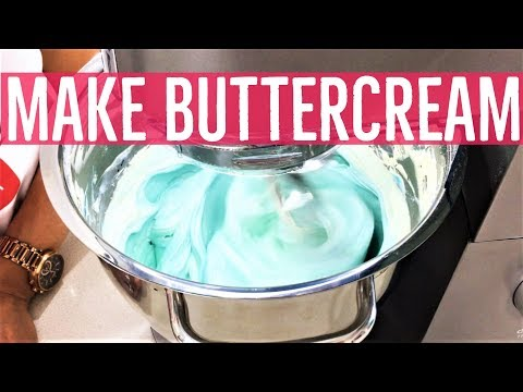 How To Make Swiss Meringue Buttercream SMBC- Perfect Consistency and Coloring Techniques