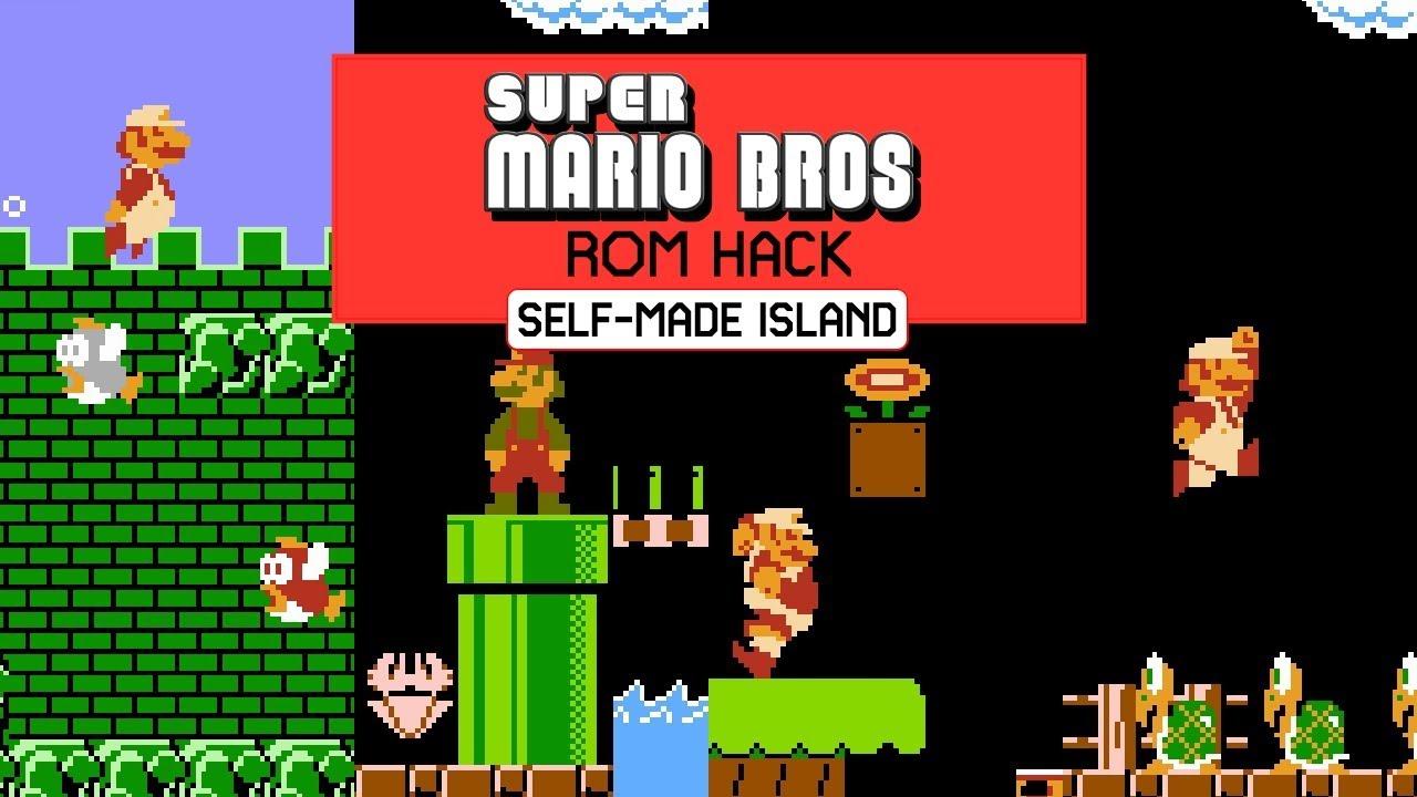 Super Mario Bros And The 32 Lost Levels Super Mario Bros Rom