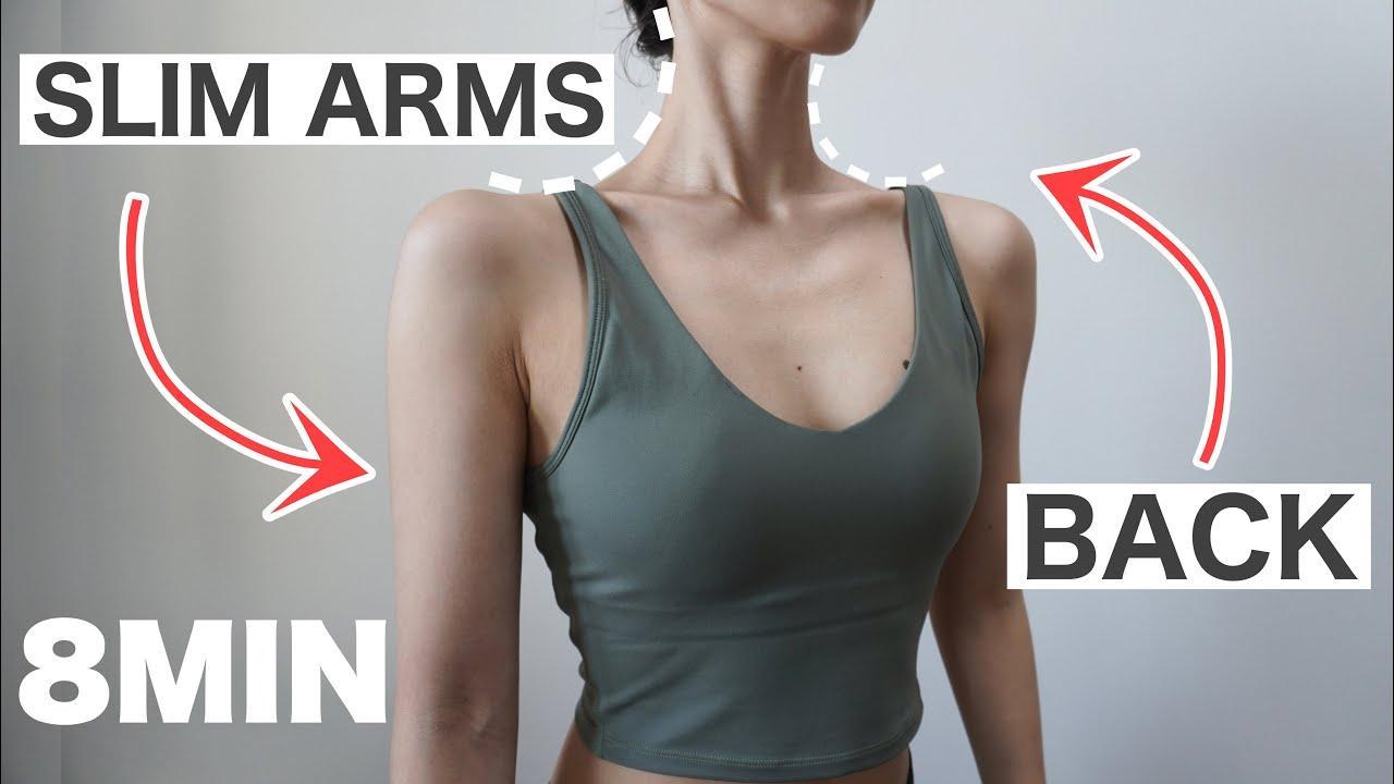 【8分】巻き肩改善で二の腕&背中を綺麗に引き締め!立って出来る簡単エクササイズ