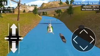 Police Helicopter Simulator (by Game Pickle) #2 | Android Gameplay | Droidnation