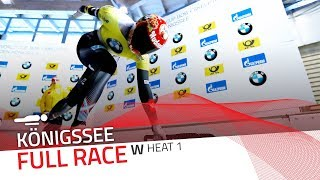 KÖnigssee | BMW IBSF World Cup 2017/2018 - Women's Skeleton Heat 1 | IBSF Official