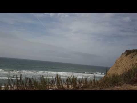 Pacific Ocean at San Gregorio State Beach