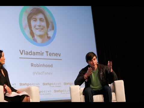 Why FinTech is Here to Stay | Vladimir Tenev (Robinhood) & Laura Shin (Forbes) @ Startup Grind 2017