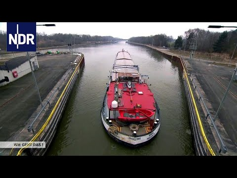 Der Elbe-Seitenkanal: mit dem Schiff durch die Heide   Wie geht das?   NDR
