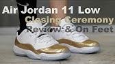 "b6c8236d42e2 Authentic Air Jordan 11 Low ""Metallic Gold""-sneakerjumpman - YouTube"