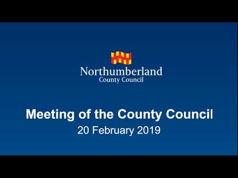 Meeting of the County Council - 20 Feb 2019