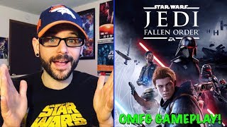 Star Wars: Jedi Fallen Order GAMEPLAY Reveal Looks AMAZING! (E3 2019) | Ro2R