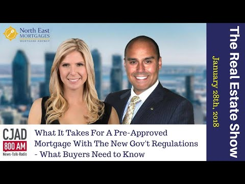 What It Takes For A Pre-Approved Mortgage With The New Gov't
