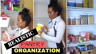 Pantry Organization | How to Organize your Pantry | Clean + organize with ME |  Crissy Marie