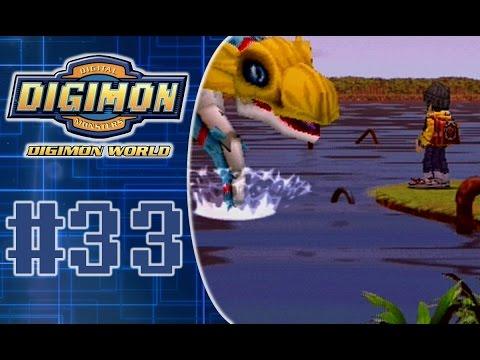 Digimon World 1 Playthrough Part 33: Seadramon - Guardian of the Lake!