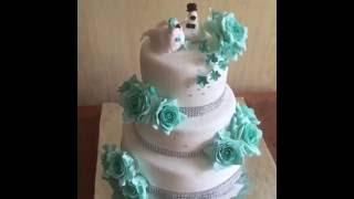 видео торты свадебные на заказ