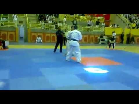 Iran ShinKyokushin kai karate Championship - Masoud Masoumi