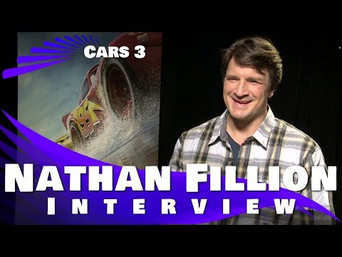 CARS 3 - Nathan Fillion Interview
