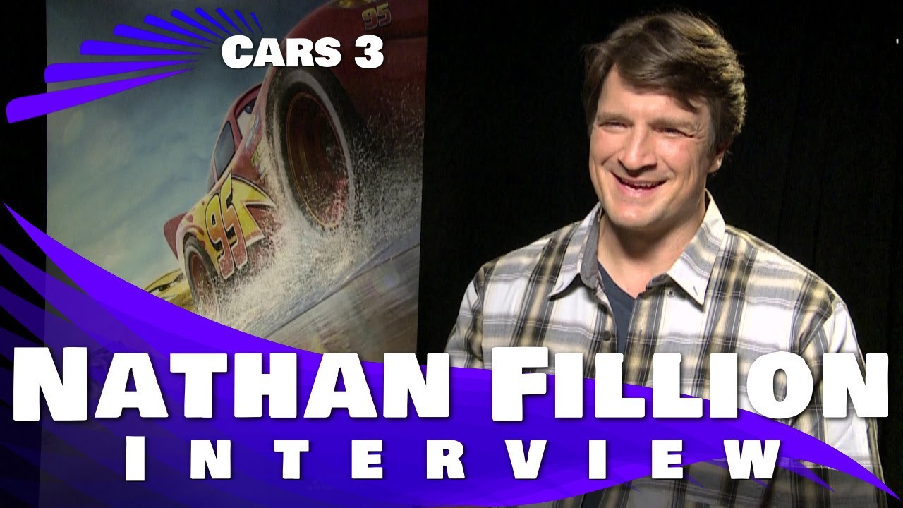 Cars 3: Nathan Fillion Interview