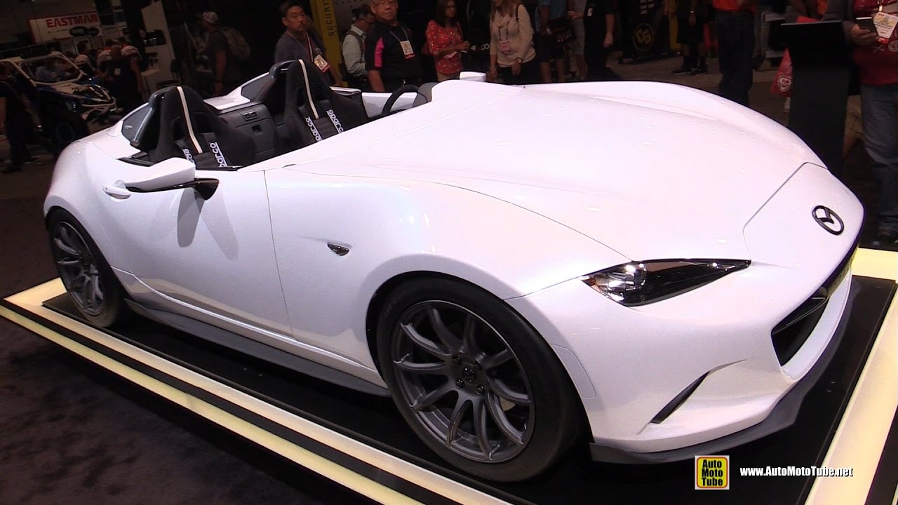 2017 Mazda MX5 Speedster Evolution Concept - Exterior and Interior ...