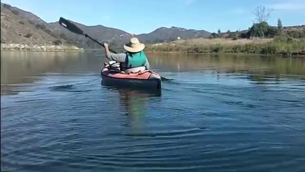 Kayaking lake hodges youtube for Lake hodges fishing report
