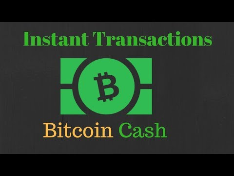 Instant Transactions on Bitcoin Cash | 0-Conf & RBF Simply Explained