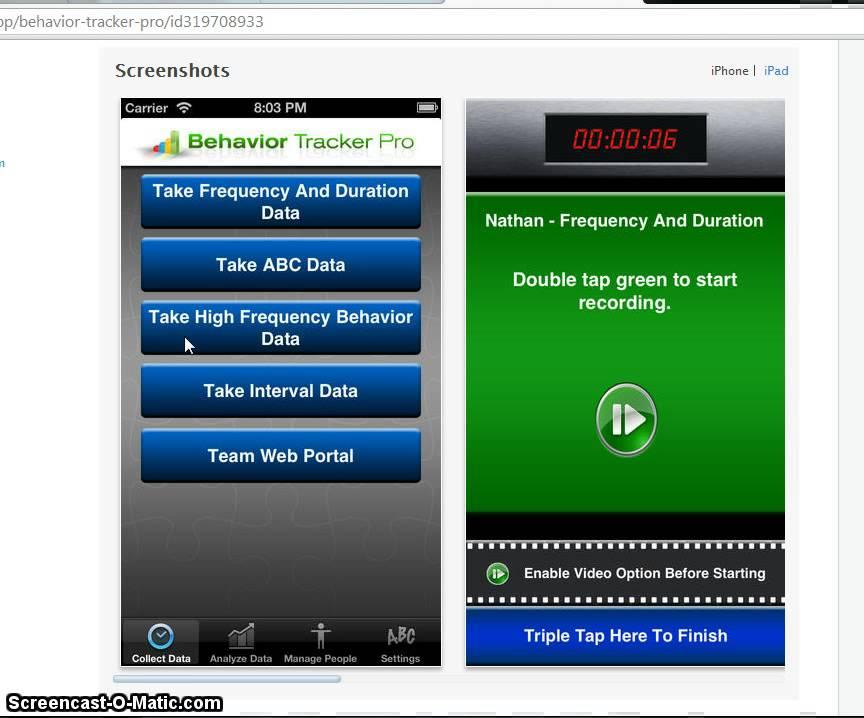 behavior tracker