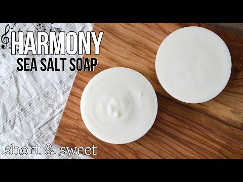Short & Sweet: Harmony Sea Salt Soap | MO River Soap