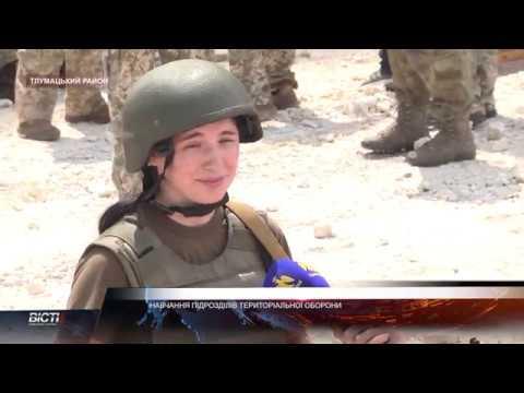 У Тлумацькому районі відбулися навчання підрозділів територіальної оборони