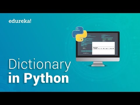 Dictionary In Python   Python Dictionary Tutorial   Python Certification Training   Edureka thumbnail